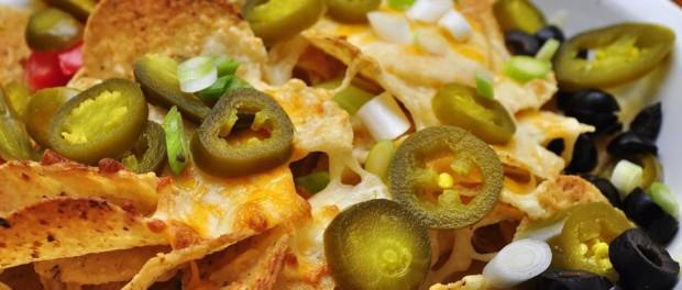 bowl of nachos