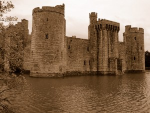 castle with moat