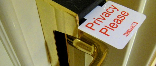 privacy hotel door tag