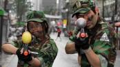 Korean Sinchon watergun warriors