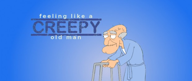 Herbert the pervert from Family Guy