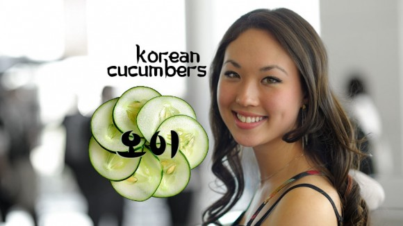 "Korean woman with ""better skin than you"""