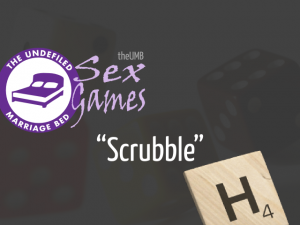 Scrabble sex game