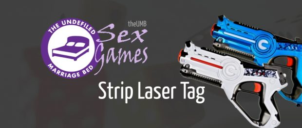 Strip Laser Tag - get shot while naked